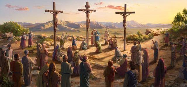 聖經故事-耶穌被釘十字架